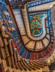Upward (James Neeley) Tags: abstract london stairs design stairway staircase jamesneeley stpancrashotel