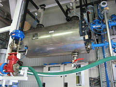 Fully insulated annular groove graphite heat exchanger in a pharmaceutical plant (GAB Neumann) Tags: plant chemistry heat cooler chemicals graphite gab chemical neumann pharmaceutical insulated manufacturing condenser exchanger impervious impregnated gabneumann