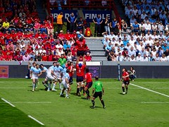 DSC00693 (melobatz) Tags: rugby ernest finale stade wallon prod2 aviron aurillacois boayonnais