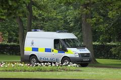 Widnes Police patroling Victoria Park, Widnes. (Barry Miller _ Bazz) Tags: landscape victoriapark widnes canon5dmark2 cheshirepolice 300mmf4llens haltoncouncil