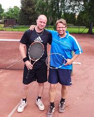 Fredrik och Michael 2013-06-09 (Michael Erhardsson) Tags: tennis final htk 2013 hallsberg hallsbergstrffen finalister finalpar