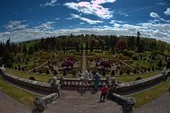 DSC_8016 copy (2): Drummond Castle, Scotland (Colin McIntosh) Tags: castle nikon fisheye 16mm ai drummond f35 d610