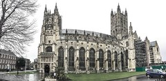 Canterbury Cathedral (that Geoff...) Tags: city england panorama church architecture buildings religious kent cathedral britain united religion great kingdom canterbury panoramic iphone