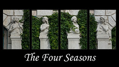 The Four Seasons (maxst001) Tags: 2016ayearinpicures 2016yip 3bezirk austria collage europa frallewieneryipmembers landstrase oesterreich onmywaytowork stadtpark staedteundplaetze vienna wien vienna365