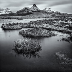 10 Stop Pollaidh Mono (amcgdesigns) Tags: water monochrome landscape mono scotland slowshutter stacpollaidh lochan assynt stacpolly scottishmountains 10stopfilter druimbadaghaill andrewmcgavin hitechprond