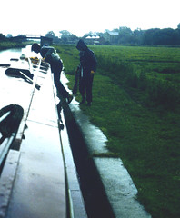 Slide 061-08 (Steve Guess) Tags: uk england storm wet rain river canal pegasus gb narrowboat soar