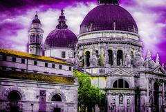 Santa Maria della Salute Venice (Zeger Vanhee) Tags: venice texture water gondolas vaporetto medievalarchitecture veniceviews