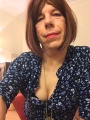Photo 09-02-2016, 22 28 25 (helenwheninnylons) Tags: crossdressing tgirl transgender clevage tranny transvestite trans transgendered crossdresser crossdress tg ladyboy shemale selfie crossdressed