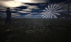 Broken Windmill (Cash Meili) Tags: sl greenstory windmill