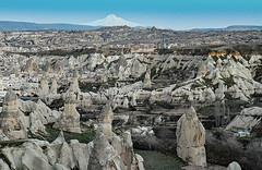 the far, big white   volcano (werner boehm *) Tags: mount vulcan cappadocia kappadokien erciyes wernerboehm gremetal