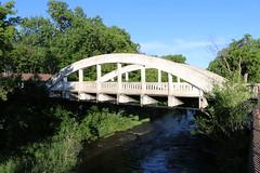 The Rainbow Bridge (Ryan Ojibway) Tags: bridge wisconsin wi rainbowbridge springstreet chippewafalls