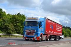Mercedes Benz Actros MP4 'Broughton Transport Solutions Ltd reg M200 BTS (erfmike51) Tags: lorry artic curtainside euro6 mercedesbenzactrosmp4 broughtontransportsolutionsltd