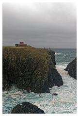 Belle le (Morshu69) Tags: sea sky mer nature rock canon gris britain wave bretagne ciel vague falaise morbihan rocher 56 cume ocan belleileenmer