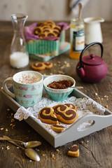 IMG_9723_exp (Helena / Rico sin Azcar) Tags: cookies chocolate palmeras butter vanilla palmier galletas vainilla mantequilla