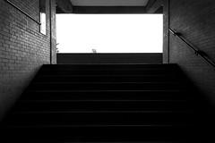 (Ivn Rubn) Tags: light shadow bw luz monochrome architecture stairs contrast buildings contraluz arquitectura edificios time shapes places sombra bn minimal lugares rincones contraste instant gloom formas minimalismo abstracto contemplative abstarct escaleras backlighting contemplation corners tiempo instante penumbra monocromtico geometras geometries contemplacin contemplativo impasible impasive