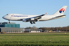 Malaysia Airlines Cargo / 9M-MPS / Boeing 747-400F / EHAM 36R /  (RVA Aviation Photography (Robin Van Acker)) Tags: amsterdam airplane photography airport outdoor aircraft air jet planes vehicle airlines schiphol airliner jumbo trafic jetliner avgeek