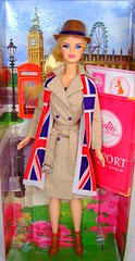 "London Barbie says,  ""Hello!"" (Bridget_John316) Tags: world uk london dolls britain barbie mackie passport"