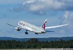 A7-BDC (5) (Christoffer Andersen) Tags: oslo airplane boeing osl qatar b787 qatarairways dreamliner passengerplanes b7878 osloairportgardermoen b7878dreamliner