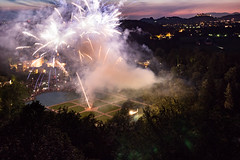 Feuerwerk Schloss Hellbrunn (Simon Neutert) Tags: city salzburg tourism june juni austria sterreich view fireworks poi schloss barock sbg feuerwerk hellbrunn 2016 schlosshellbrunn barockt