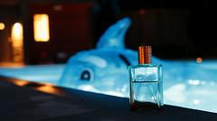 perfumed evening by the pool (anna.cj) Tags: glas fotosondag fs160529
