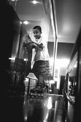 Day 191 / 365 : Kidz (Kiên Trung Trần) Tags: life street travel light people blackandwhite white playing man black cold building art love feet beautiful wall bulb kids night standing 35mm project dark walking fun outside happy photography evening kid haze lowlight nikon vietnamese alone legs time walk fineart fine bored streetphotography documentary happiness streetlife ground indoor line vietnam viet riding busy human tired land 365 noise hanoi vienam outsite randomshot 365day 365project d3000
