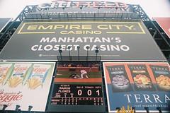 000035 () Tags: newyork film baseball olympus 24mm mets f28 mlb portra400 om1md  hzuiko  citifield autow