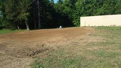 Utliity Site Terraforming (Final) (NerdAcres) Tags: grass site earth seed straw utility dirt preparation prep watering earthwork 2016 seeding terraforming