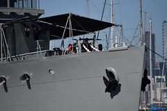 """HMAS Castlemaine (J244) 71 • <a style=""""font-size:0.8em;"""" href=""""http://www.flickr.com/photos/81723459@N04/27394191712/"""" target=""""_blank"""">View on Flickr</a>"""