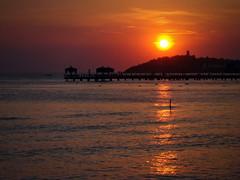 ... (R_Ivanova) Tags: summer sea sky sunset sun seaside water colors color cloud coast sony rivanova turkey       nature landscape light