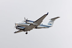 Private (Northrop Grumman) Beech B300 Super King Air 350 N72NG (jbp274) Tags: airport cloudy airplanes lax beechcraft beech kingair superkingair klax northropgrumman b300 bizprop