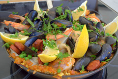 Paella, freshly cooked at Accrington Food Festival (Tony Worrall) Tags: uk england food make menu yummy nice dish photos tag cook tasty plate eaten things images x made eat foodporn add meal taste dishes cooked tasted grub iatethis foodie flavour plated foodpictures ingrediants picturesoffood photograff foodophile ©2016tonyworrall