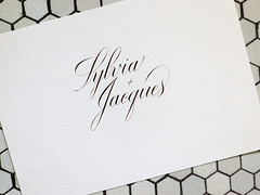 Sylvia + Jacques. (Syntax One) Tags: g walnut nikko calligraphy copperplate