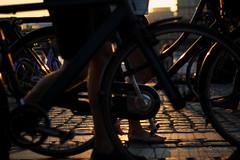 Walkin (fabiog86) Tags: street travel bike canon copenhagen 50mm focus europe kobenhavn canoneos60d fabiog
