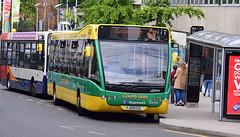 Stagecoach Midlands Optare Versa V1100/Optare B38F (in Coventry) (paulburr73) Tags: urban bus buses june transport saturday busstop busshelter transit coventry mrs versa citycentre westmidlands warwickshire leamingtonspa stagecoach smr midlands trinitystreet 2016 optare routebranding v1100 singledecker cubbington service68 x68 midlandredsouth countylinks b38f 25237 yj09ezl