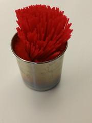 IMG_20150208_074051 (Vernon Brad Bell) Tags: straws coffeestirrer red