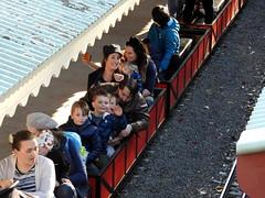 Joyriders (Lesley A Butler) Tags: australia melbourne victoria eltham miniturerailway diamondvalleyrailway