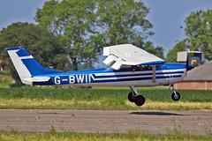 G-BWII Cessna 150G J.G.D.Hicks Sturgate Fly In 05-06-16 (PlanecrazyUK) Tags: sturgate egcv fly in 050616 gbwii cessna150g jgdhicks fly in