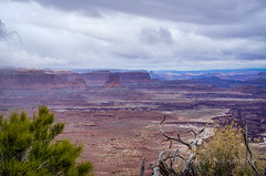 The Vastness of It All (Roshine Photography) Tags: sky cloud mountain landscape outdoor hill canyonlandsnationalpark mountainside mesa pentaxk5 2016utahtrip