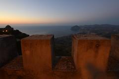 Erice (moniq84) Tags: tramonto sicilia erice trapani