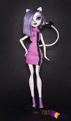 Catrine Scaremester (PurpleandOrangeMH) Tags: catrine monster high doll ghouls chat scaremester gloom bloom basic mueca