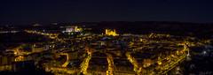 Panormica de Alcaiz (cazador2013) Tags: luces noche iglesia ciudad nocturna casas turismo castillo nocturnidad