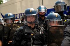 Contre la loi travail El Khomri (dprezat) Tags: street people paris nikon contest protest police politique manifestation opposition d800 crs syndicat nikond800 loitravail elkohmri