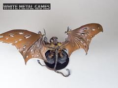 Rauthuros 4 (whitemetalgames.com) Tags: red orange white green grey reaper bat large dragons pit gargoyle toad demon huge devil medium winged fiend dungeons pathfinder balor