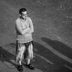 O Toureiros de Terceira (SkyBlue Photography Pro) Tags: street travel bw man verde canon island photography fotografie zwartwit watching spectator ilha terceira azores azoren 500px toureiros ifttt