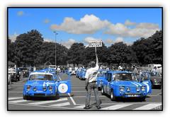 Bleu Gordini (1) (au35) Tags: auto blue car automobile voiture renault bleu renaultgordini gordini grandprixautomobilehistoriquebressuire grandprixhistoriquedebressuire