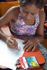 _TEF5569 (Edson Grandisoli. Natureza e mais...) Tags: peixe papel escola lápis menina desenho jovem desenhando amazônia educação ribeirinha cabocla educaçãoambiental regiãonorte
