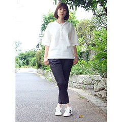 July 10, 2016 at 12:53PM (audience_jp) Tags: shop fashion  audienceshop   ootd japan   kouenji snap aud3335    upscapeaudience tokyo madeinjapan audience  coordinate