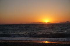 DSC00725 (JasonSwindells) Tags: travel sunset sun tourism beach hellas tourist greece rhodes rhodos a6000