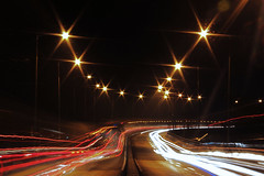 Welcome to Malang (indraddd) Tags: city canon lights highway gate nights lighttrails malang flyover wellcome lawang lenskit 1200d