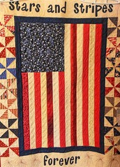 Happy July 4th, Giftshop in Tombstone, AZ (goodhike) Tags: arizona stars star quilt stripes flag tombstone stripe 4th july az forever july4th starsandstripes usflag starsstripes coverlet happyjuly4th